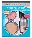 Physicians Formula Mineral Wear Flawless Complexion Kit, Medium - Pressed Powder: 0.3 Ounce, Matte Finishing Veil: 0.58 Ounce & Pressed Blush: 0.19 Ounce