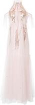 Temperley London Mineral Scarf Neck Dress