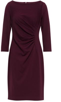 DKNY Ruched Stretch-jersey Mini Dress