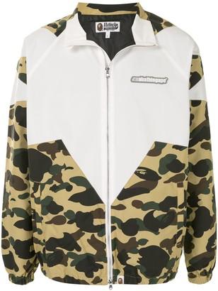 A Bathing Ape Camouflage-Print Lightweight Jacket