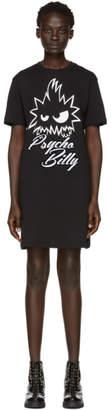 McQ Black Psycho Billy T-Shirt Dress
