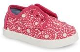 Toms Infant Girl's Paseo Slip-On Sneaker