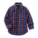 Osh Kosh Oshkosh Long Sleeve Button-Front Shirt Boys
