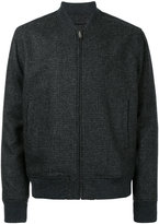 Kent & Curwen tweed bomber jacket