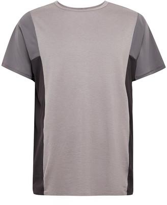 Lululemon Robert Geller Take the Moment Colour-Block Mesh T-Shirt - Men - Purple