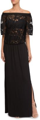 Lise Charmel Perfect Allure Lace Top Long Beach Dress