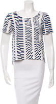 Maiyet Printed Short Sleeve Top w/ Tags