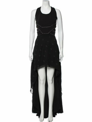 Jay Ahr Scoop Neck Knee-Length Dress w/ Tags Black