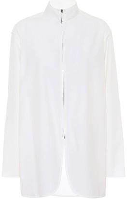 The Row Zana wool-blend shirt jacket