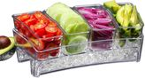 Prodyne Condiments Bar on IceTM Tray