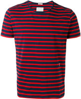 Marc Jacobs short sleeve stripe T-shirt - men - Cotton - L