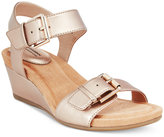 Giani Bernini Bryana Memory Foam Wedge Sandals, Only at Macy's