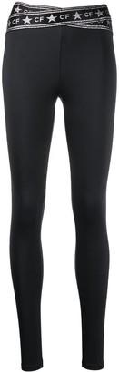Chiara Ferragni Logo-Print Slim-Fit Leggings
