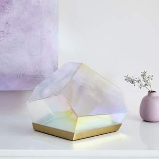 "west elm Glass Gem LED Table Lamp (8"")"