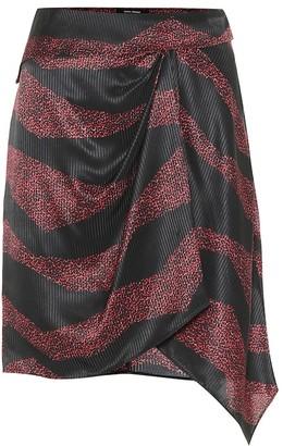 Isabel Marant Rosana printed silk-blend skirt