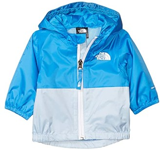 The North Face Kids Zipline Rain Jacket (Infant) (TNF White Little Yose Print) Kid's Clothing