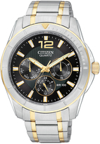Citizen Black & Two-Tone Bracelet Watch - Men