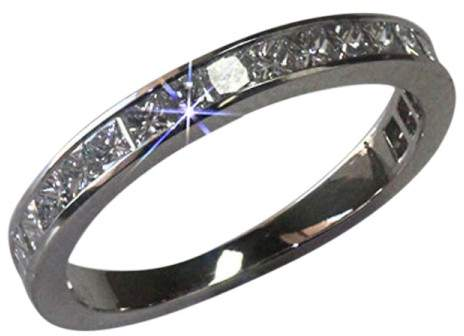 Chanel Channel Set Diamond Wedding Eternity 1.4Ct Band