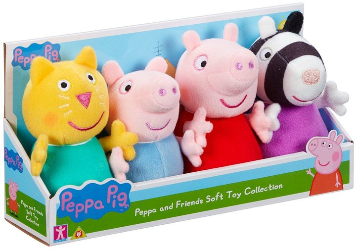 Peppa Pig Peppa and Friends Plush Collection