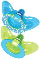 The First Years GumDrop Pacifier - Blue/Green - 6 - 18 Months - 2 ct