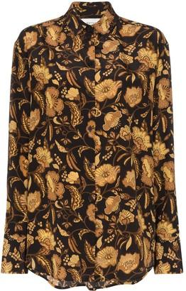 Matteau Floral-Print Shirt