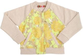 Anne Kurris Lurex Jacquard & Cotton Jacket