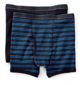 Haggar Men's 2-Pack Striped Boxer Briefs