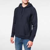 Paul Smith Men's Navy Organic Loopback-Cotton Hoodie