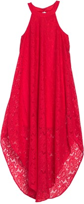 Love Squared Eyelet Lace Maxi Dress