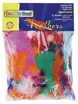 Creativity Street®; Bright Hues Feather - Multi-Colored