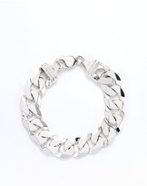 The Love Silver Collection Mens Sterling Silver 9 Inch 2 oz Curb Chain Bracelet