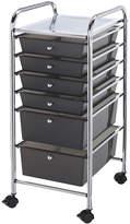 Asstd National Brand 6-Drawer Storage Cart