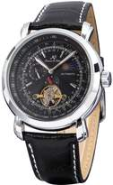 K&S KS Luxury Tourbillion Moon Phase Automatic Mechanical Men's Leather Wrist Watch KS068