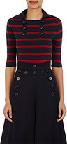 Chloé Women's Rib-Knit Sailor Polo Shirt