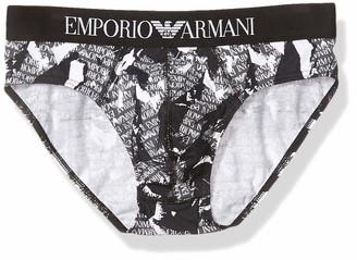 Emporio Armani Men's Seasonal Print Brief Boxer