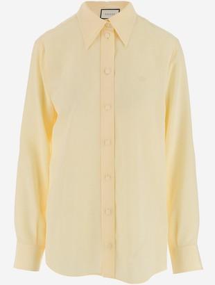 Gucci Crepe de Chine Silk Women's Shirt