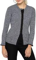 Nic+Zoe Cotton-Blend Button-Front Cardigan