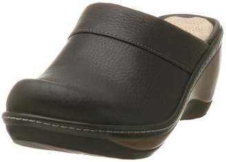 SoftWalk Women's Murietta Black Clog 12 W