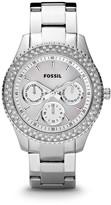 Fossil Stella Multifunction Stainless Steel Watch