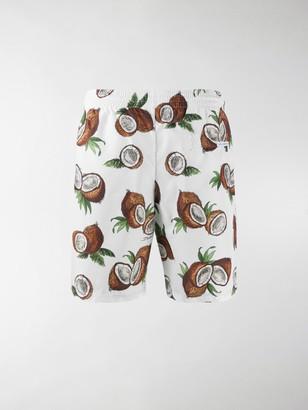 Dolce & Gabbana Coconut Print Swim Shorts