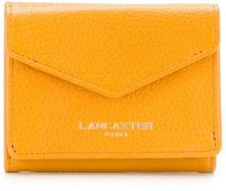 Lancaster compact logo wallet
