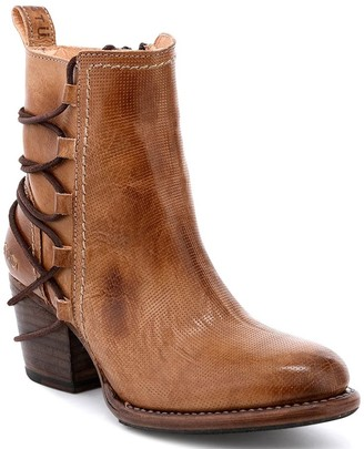 Bed Stu Leather Ankle Booties - Blaire