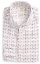 Men's Strong Suit Trim Fit Geometric Dress Shirt