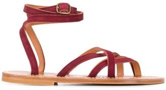 K. Jacques Zenobie flat sandals