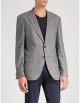 Boss Slim fit wool-blend jacket