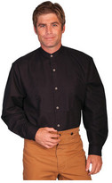 Scully Men's Full Button Front Shirt with Bib Inset 540850