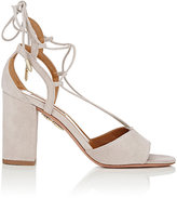 Aquazzura Women's Austin Sandals-LIGHT GREY