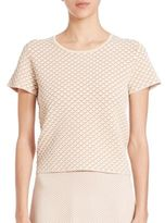 Theory Ferson Printed Cropped Tee