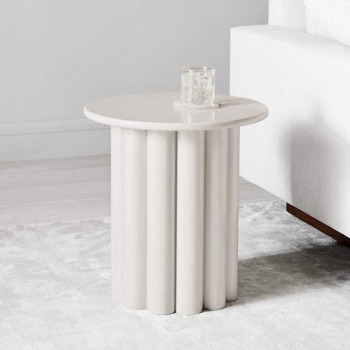 Hera Side Table - Semi-Circle