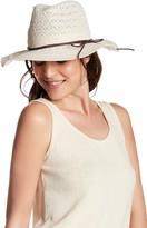 David & Young Lace Panama Hat
